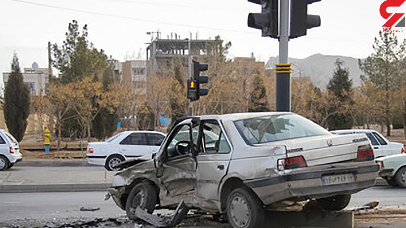۷ مصدوم در حادثه تصادف میدان کشوری اصفهان