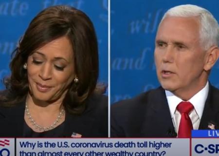 پیروز مناظره دوم انتخابات آمریکا، هریس بود یا پنس؟