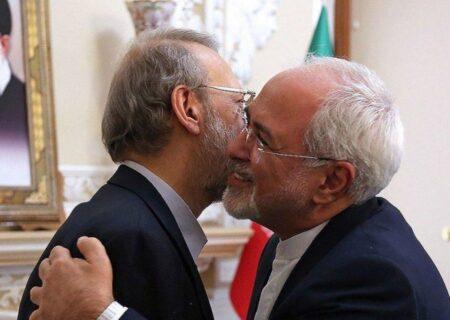 محمدجواد ظریف حامی لاریجانی در انتخابات ۱۴۰۰ خواهد بود؟
