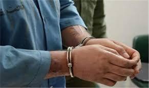 دستگیری سارقی که فقط گل میدزدید!