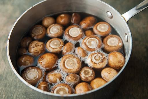 بهترین روش پخت قارچ