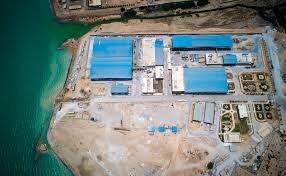 آب شیرینکن یک میلیون مترمکعبی «بندرعباس» افتتاح شد