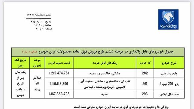 آغاز ششمین مرحله فروش فوق العاده ایران خودرو + جزئیات و لینک ثبت نام
