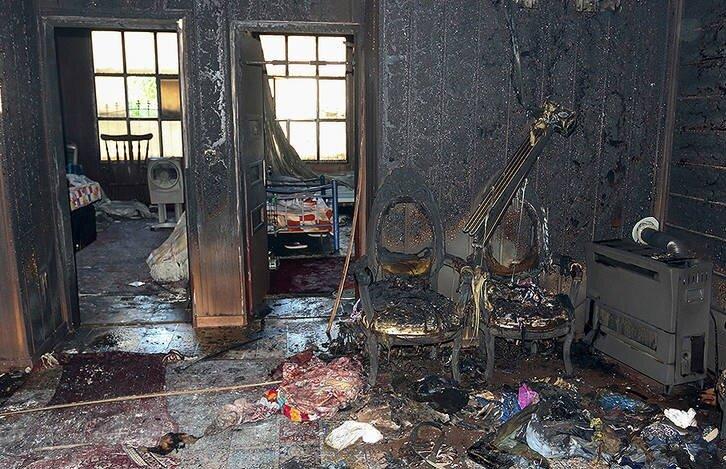 ابهام در پرونده آتشسوزی مرگبار در ساختمان مسکونی   مرگ ۴ نفر به خاطر انتقامجویی