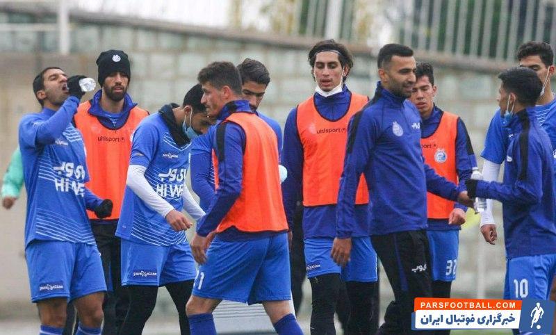 استقلال ؛ محمد نادری آماده انجام نخستین بازی خود را با پیراهن استقلال