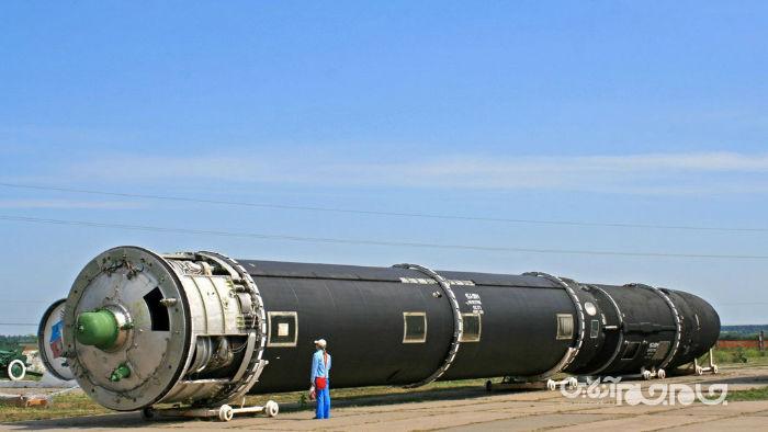 اس اس- ایکس-۳۰ شیطان ۲: موشک بالستیک قاره پیما و خوفناک جدید روسیه+عکس