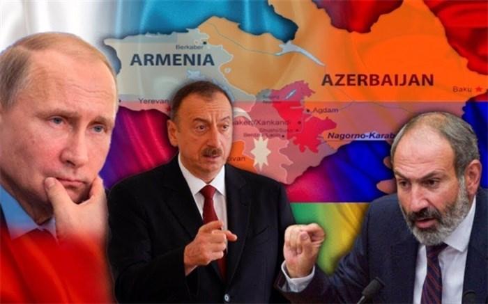 روسیه آذربایجان ارمنستان