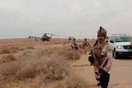 انهدام ۴۵ تونل داعشی در شمال عراق