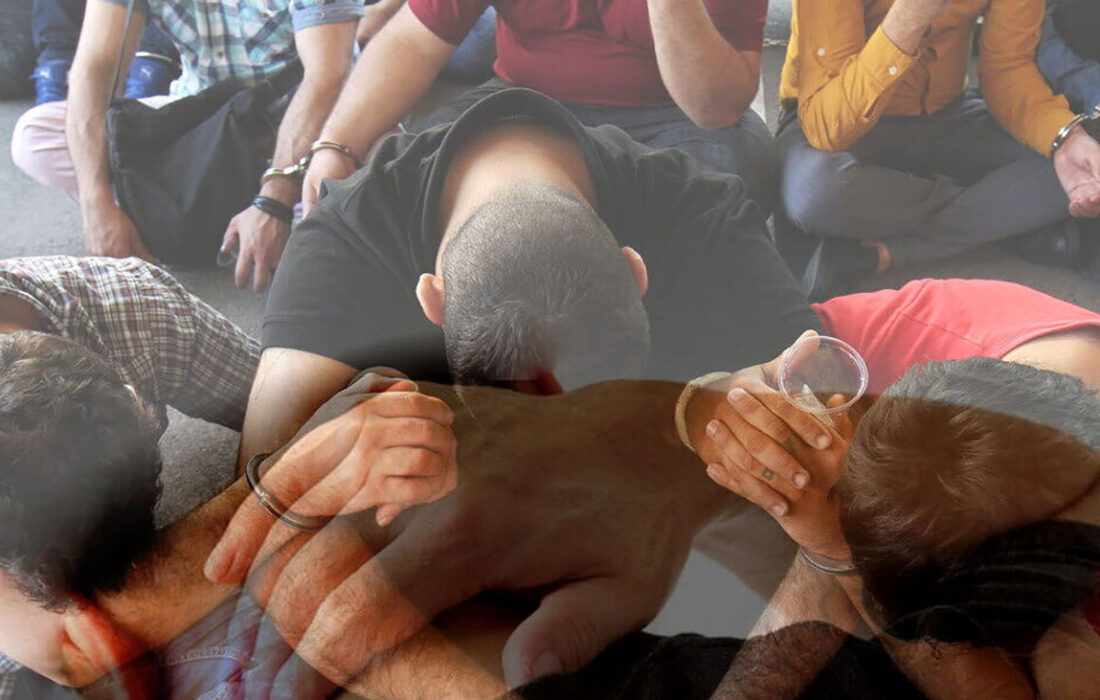 دستگیری ۸ اوباش منطقه گلسار ساوجبلاغ