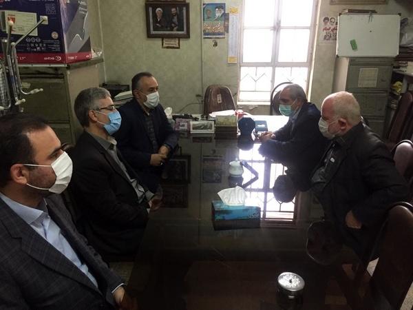 بازدید مدیرکل تامین اجتماعی قزوین از خانه کارگر استان