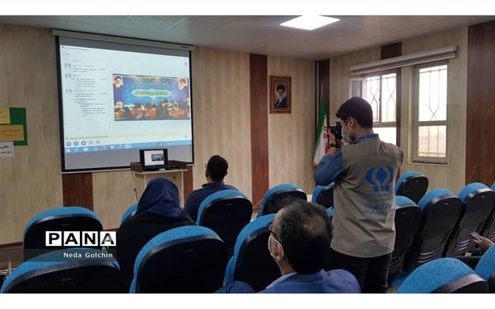 بازدید مدیر سازمان دانش آموزی خوزستان از دومین روز برگزاری کارگاه آموزشی مدرسین خبر پانا