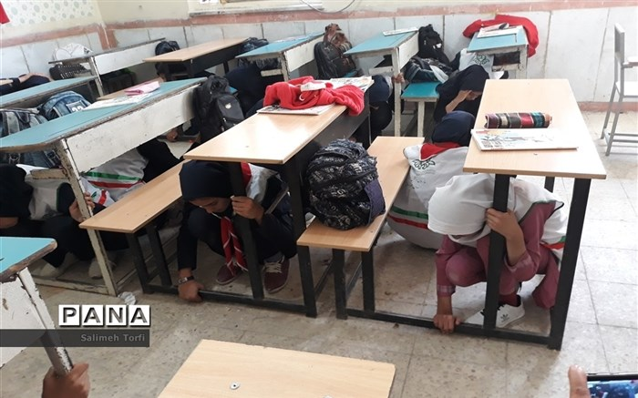 برگزاری بیست و دومین مانور سراسری زلزله در فارس