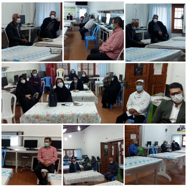 برگزاری جلسه رابطین و فعالان امور اعضای خانه کارگر مازندران