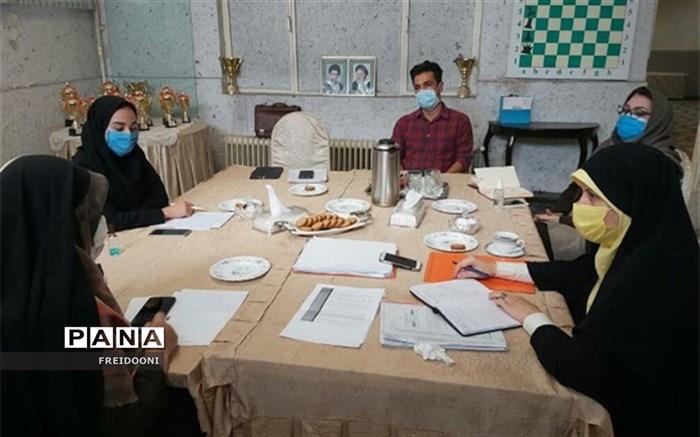 برگزاری جلسه ناظران طرح کوچ در منطقه چهار