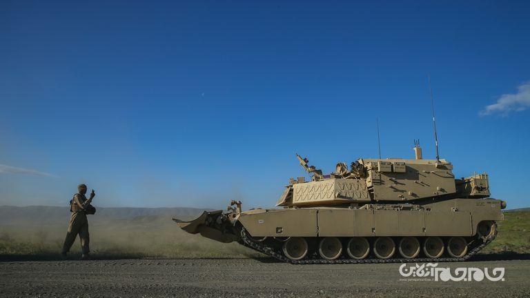 تانک رباتیک و بدون سرنشین جدید آمریکایی با قابلیت نابودی خطوط دفاعی دشمن و مین روبی+عکس