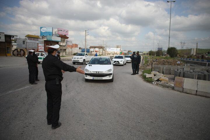 تردد بینشهری خودروهای شخصی در مازندران فقط با برچسب مجاز است