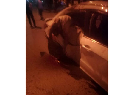 ۳ کشته و مصدوم در تصادف سواری با درخت در خرمآباد + عکس