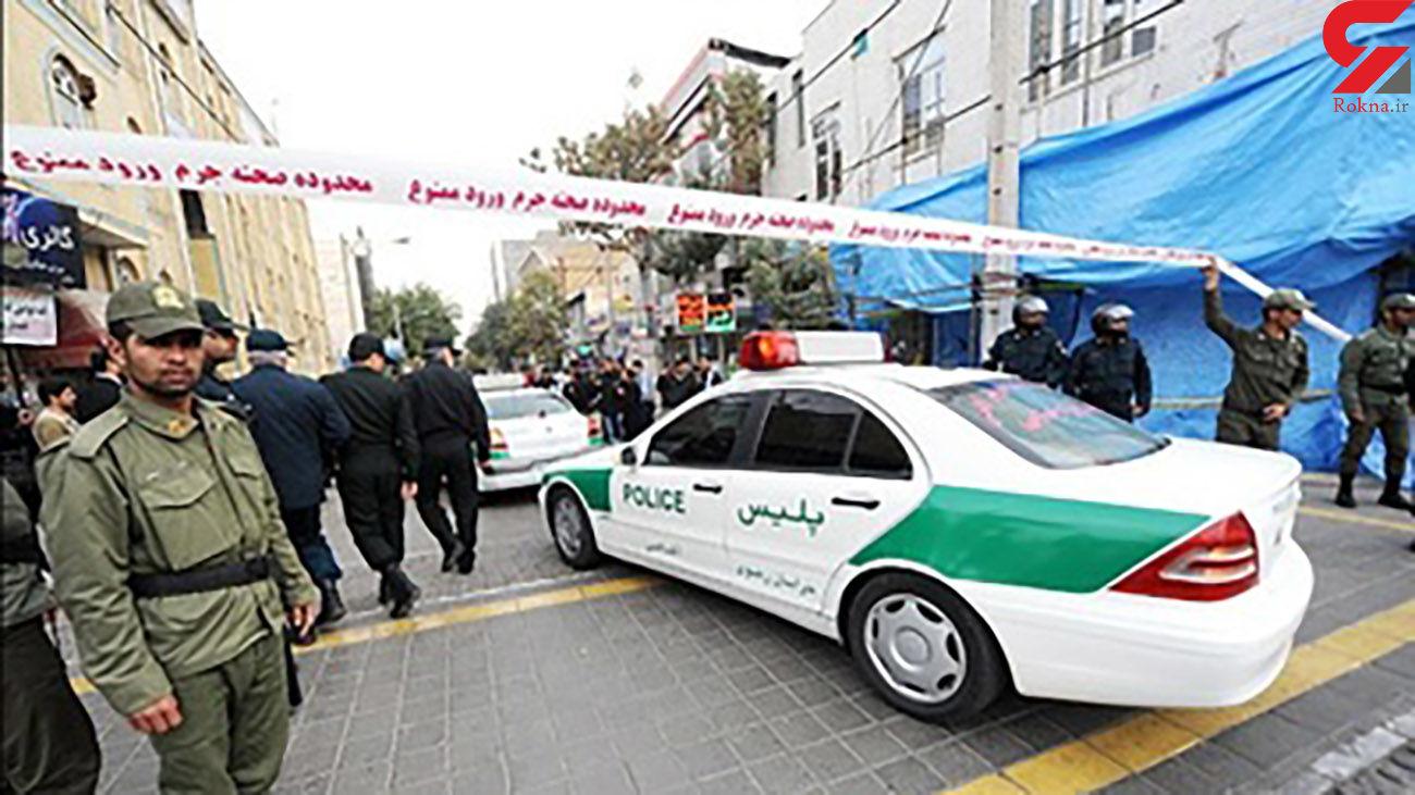 تعقیب و گریز مسلحانه پلیس استان کردستان جان یک شهروند را گرفت