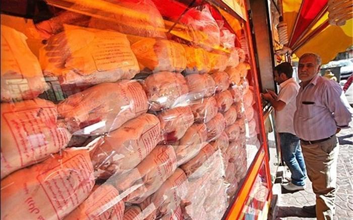 توزیع مرغ گرم در فروشگاههای زنجیرهای از شنبه