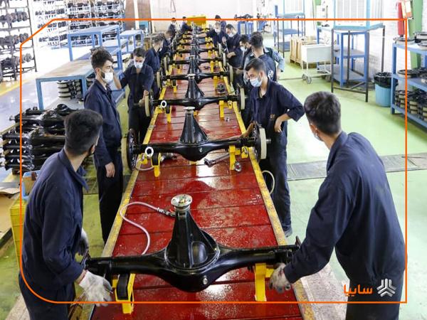 تولید اکسل در شرکت زامیاد از ظرفیت اسمی عبور کرد