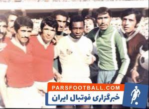 تیم ملی ؛ حضور در ترکیب تیم ملی در بازی با پله و یارانش در تیم سانتوس