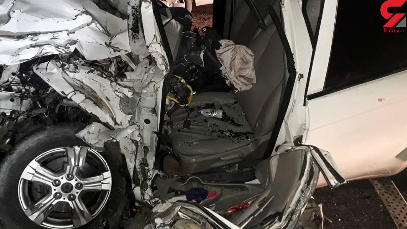 حادثه بیخ گوش فرودگاه پیام کرج / یک نفر کشته شد + عکس