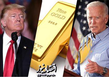 حدس قیمت طلا از نتیجه انتخابات آمریکا
