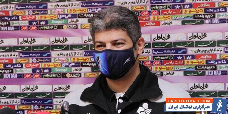 حسین پاشایی ؛ واکنش مربی پیکان به عدم انتقال مدافع تیمش به پرسپولیس
