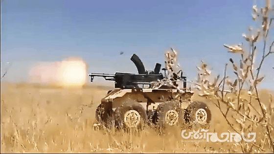 حیدر-۱: خودرو نظامی بدون سرنشین ایرانی برای مقابله با تانک و خودروهای زرهی+عکس