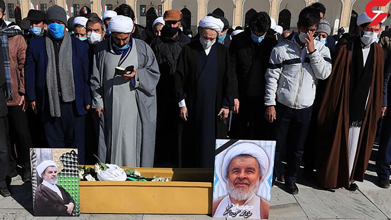 خاکسپاری حجت الاسلام محمدحسن راستگو