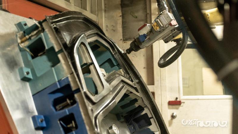 خودروی برقی سبک تر به لطف فناوری جدید تولید بدنه خودرو+عکس