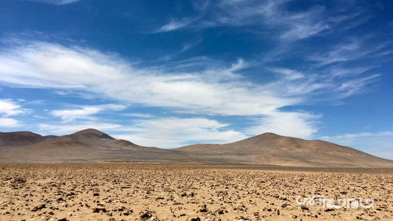 دانشمندان برای کشف کلید حیات در مریخ، خشکترین منطقه زمین را بررسی کردند+عکس