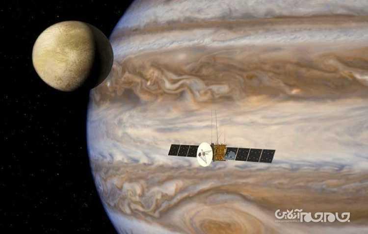 درخشش سطحی قمر اروپا از رازهای آن پرده برمیدارد+عکس