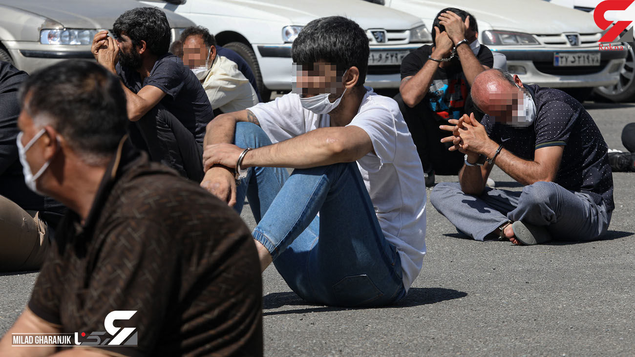دستگیری ۱۸ سارق و ۱۱ معتاد متجاهر در اشتهارد