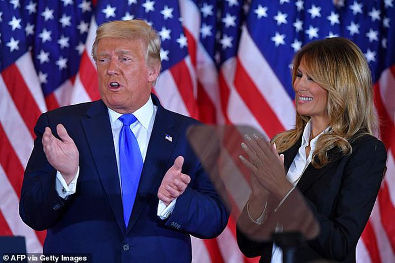 دونالد ترامپ هم کاخ سفید را از دست داد و هم ملانیا را