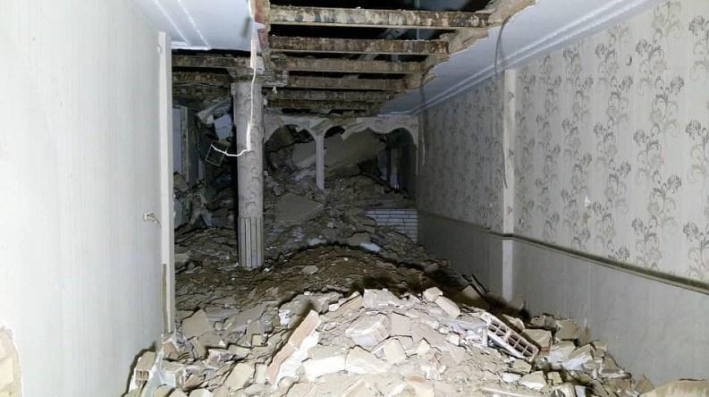 ریزش ساختمان ۳ طبقه در شرق تهران + تصاویر