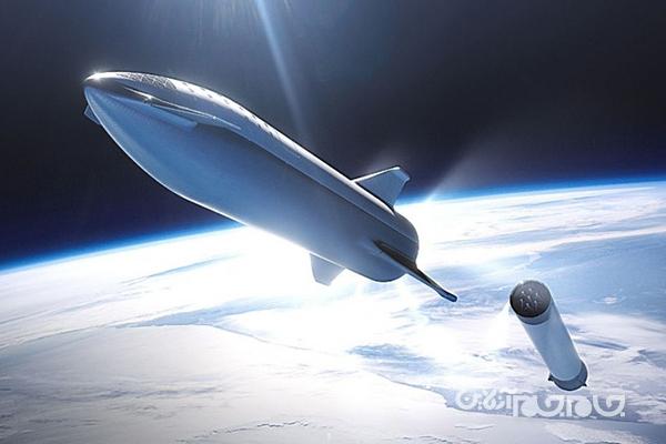 رییس اسپیس اکس: استارشیپ قادر به پاکسازی ۷۶۰ هزار زباله فضایی از مدار است+عکس