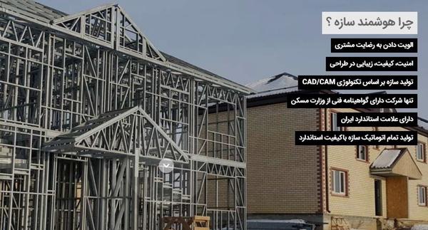 سازه خانه پیش ساخته LSF ساختمان دوست دار محیط زیست