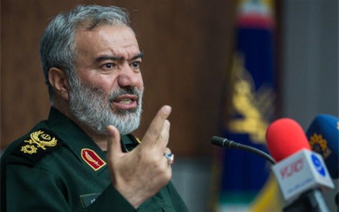 سردار فدوی: آمریکا حتی در یک جبهه هم پیروز نشد