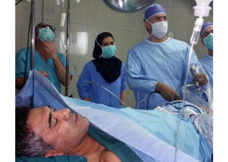 شکستگی همزمان ۱۰ استخوان احمدرضا عابدزاده! + عکس اتاق جراحی