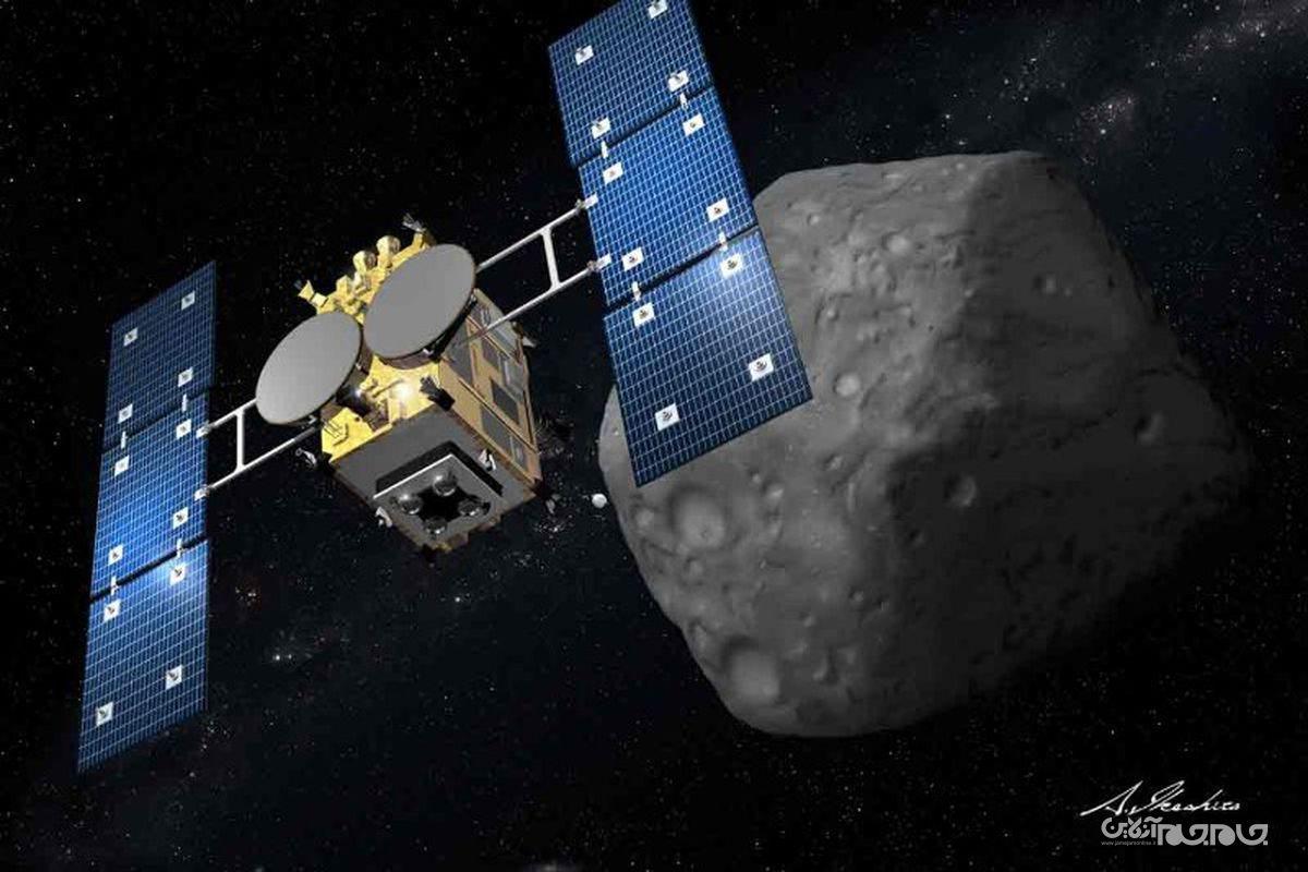فضاپیمای ژاپن به زودی نمونهای از سیارک «ریوگو» را در اختیار دانشمندان قرار میدهد+عکس
