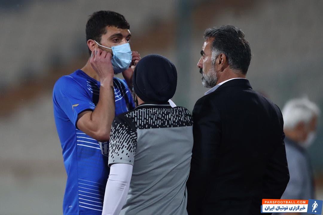 محمد دانشگر؛ مصدومیت محمد دانشگربا تابلوهای تبلیغاتی ؛ پارس فوتبال