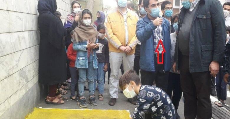 وقتی آقازاده در کوچههای تهران تمرین نقاشی میکند! +تصاویر