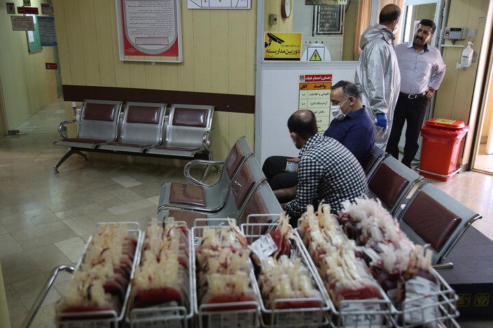مردم اهدای خون را در اولویت قرار دهند