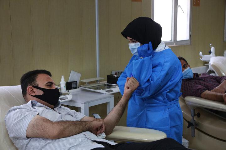 مردم تا پایان بحران کرونا در تامین خون کمک کنند