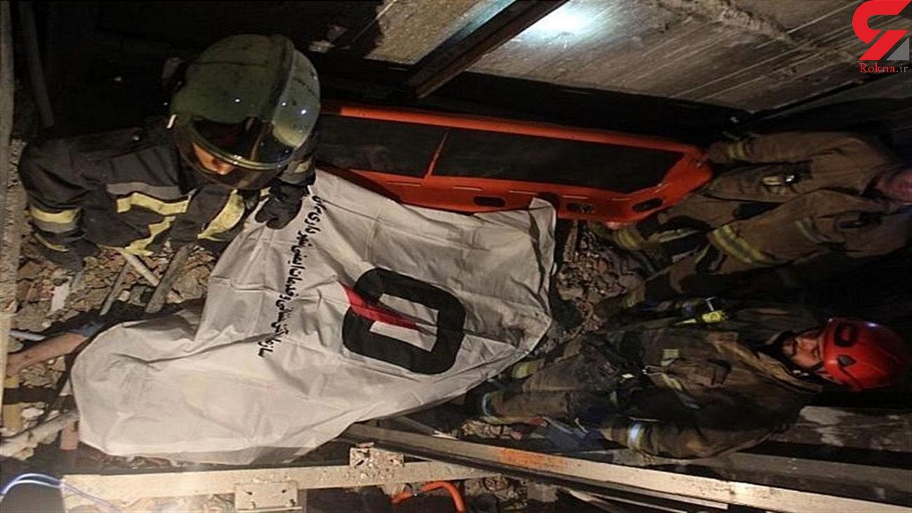 مرگ دردناک ۲ کارگر ارومیه ای در چاله آسانسور + عکس
