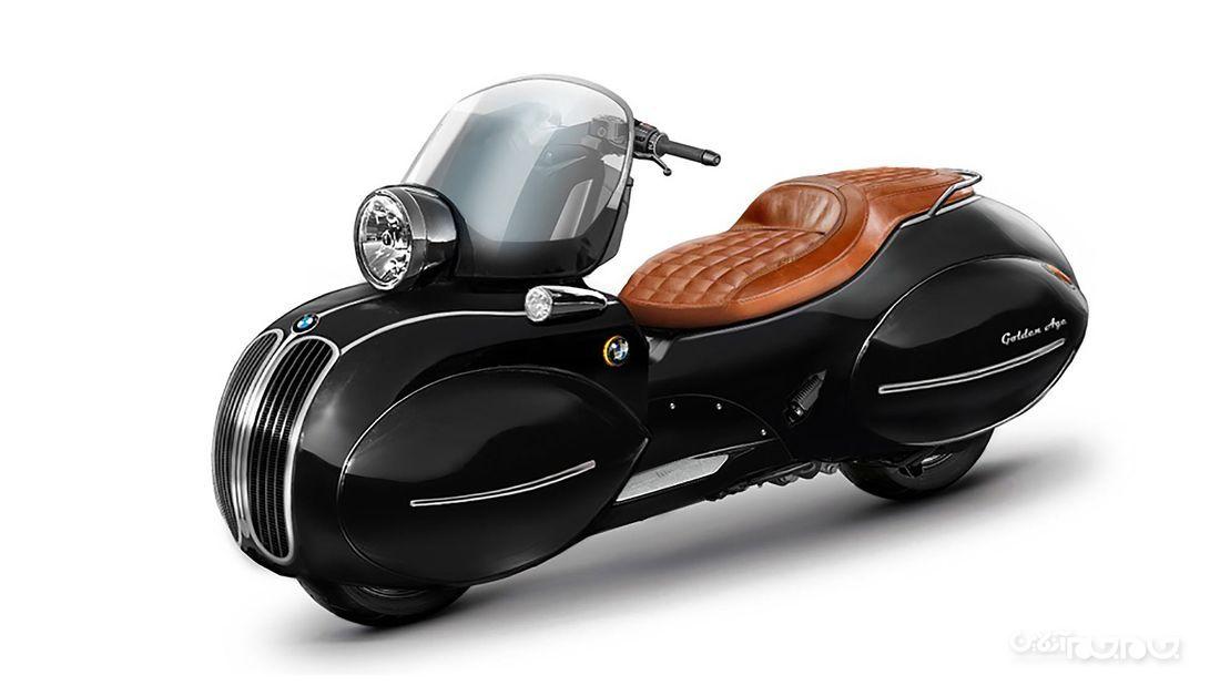 موتورسیکلت بی ام و با طرح وسپا معرفی شد+عکس