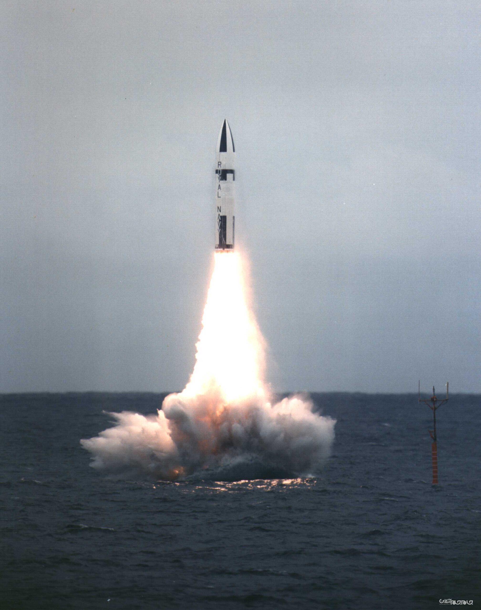 موشک پلاریس؛ اولین موشک زیردریایی پرتاب اتمی جهان+عکس