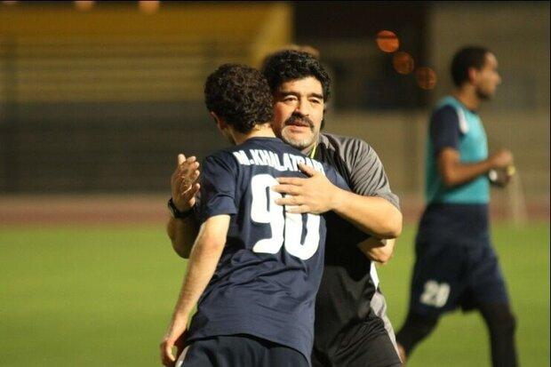 وقتی مارادونا ۳۰ متر دنبال بازیکن ایرانی دوید
