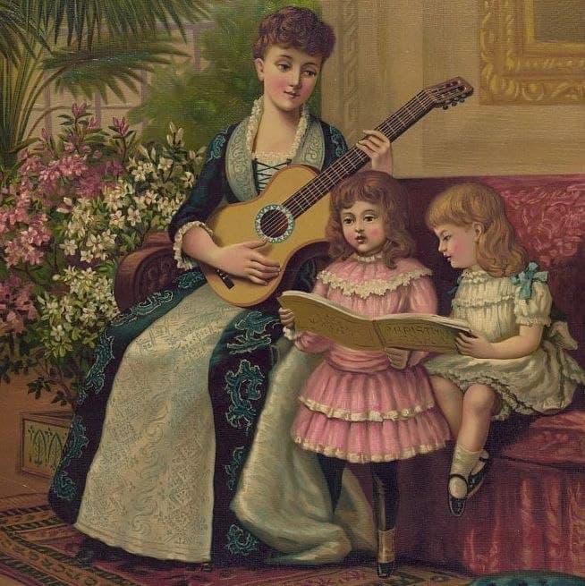 وقتی گیتار ساز «مناسب زنان» بود